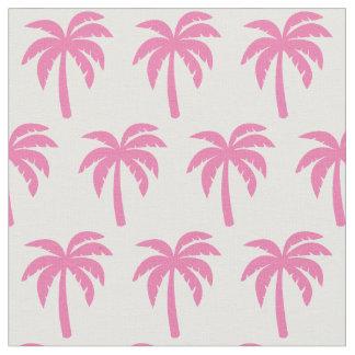 Palm Tree Pink Fabric