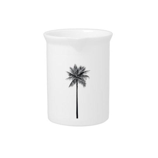 Palm Tree Pitcher