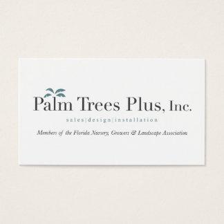 Palm Tree Plus Business Cards
