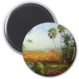 Palm Tree Ranch Magnet