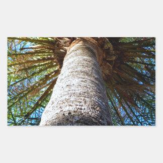 Palm Tree Rectangular Sticker