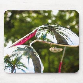 Palm Tree Reflection Mouse Pad