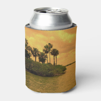 Palm Tree Reverie Can Cooler