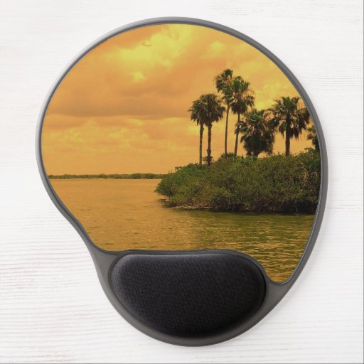 Palm Tree Reverie Gel Mouse Mats