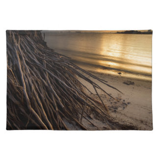 Palm Tree Roots at Sunset Placemat
