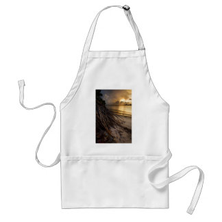 Palm Tree Roots at Sunset Standard Apron