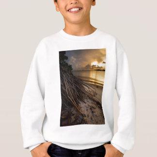 Palm Tree Roots at Sunset Sweatshirt