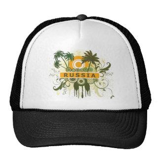Palm Tree Russia Mesh Hats