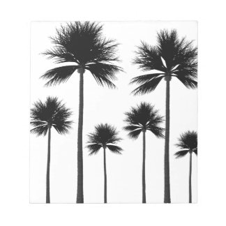 Palm Tree Silhouette Notepad