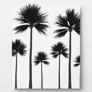 Palm Tree Silhouette Plaque