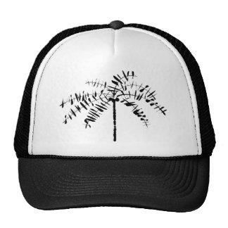 Palm Tree Sketch Cap