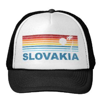 Palm Tree Slovakia Trucker Hat