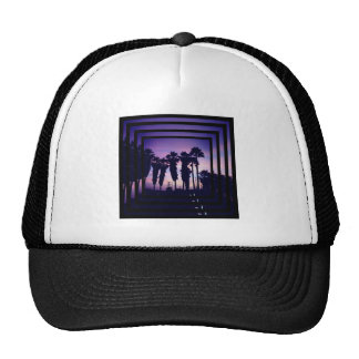 Palm Tree Square hat