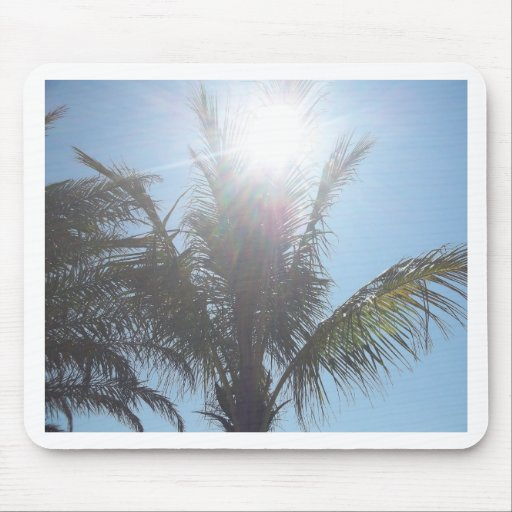 Palm Tree Summer Day Mousepad
