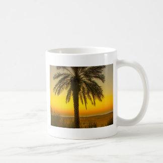 Palm Tree Sunrise Coffee Mug