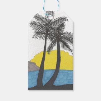 Palm Tree Sunrise Silhouette