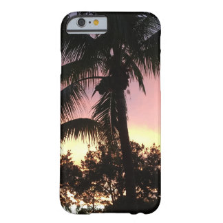 Palm Tree Sunset Barely There iPhone 6 Case