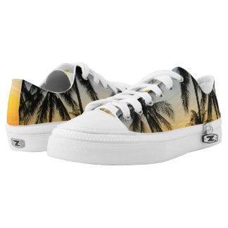 Palm Tree Sunset Beach Sneaker