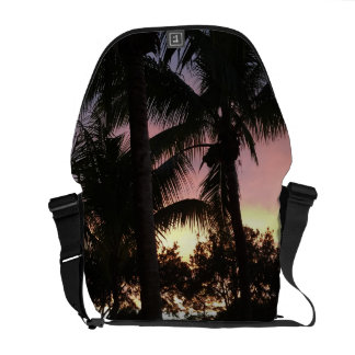 Palm Tree Sunset Courier Bags