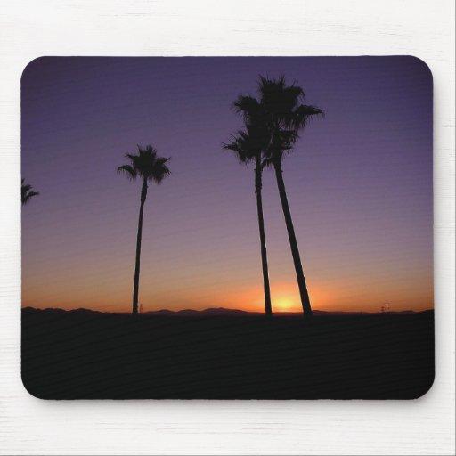 Palm Tree Sunset Mousepad