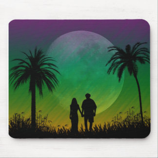 Palm Tree Sunset Mousepad