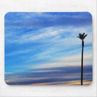 Palm Tree Sunset Photo Mouse Pad