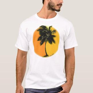 Palm Tree Sunset Tshirt