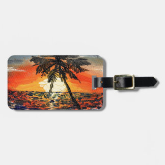 Palm Tree Tags For Bags