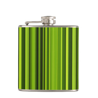 Palm Tree Texture Pattern Hip Flask