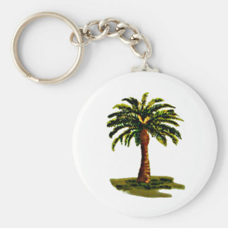 Palm Tree The MUSEUM Zazzle Gifts Keychain