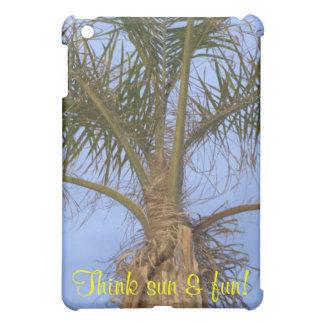 Palm Tree Think Sun & Fun iPad Mini Cover