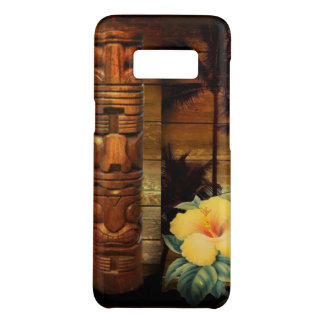 Palm Tree totem tropical Floral hibiscus Hawaiian Case-Mate Samsung Galaxy S8 Case