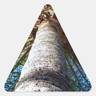 Palm Tree Triangle Sticker