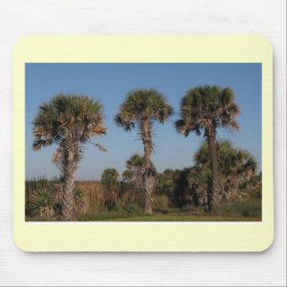 Palm Tree Trio Mouse Pad