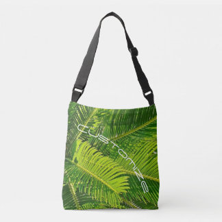 Palm Tree Tropical Island Customizable Tote Bag