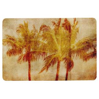Palm Tree Vintage Floor Mat