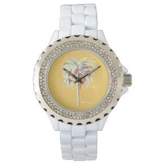 Palm Tree Watch- Yellow Watch