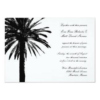 Palm tree wedding invitations | Tropical invites