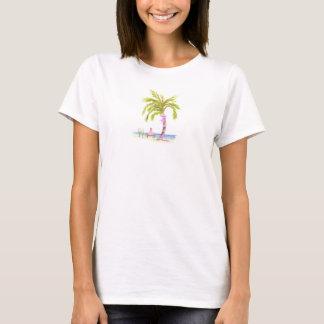 palm tree wedding t T-Shirt