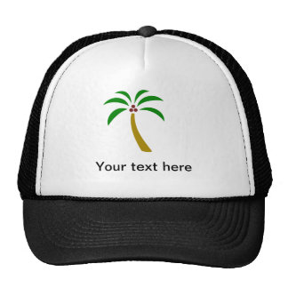 Palm Tree With Coconuts Cap