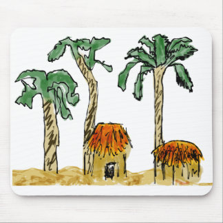 Palm Trees and Paradise Mouse Pad