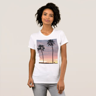 Palm Trees and Surfer T-Shirt