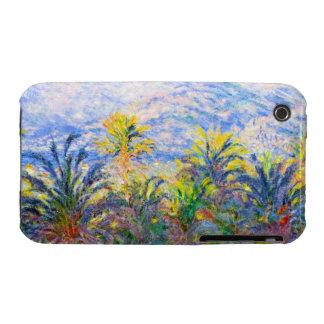 Palm Trees at Bordighera Claude Monet Case-Mate iPhone 3 Case