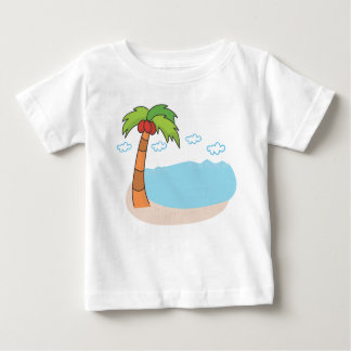 Palm Trees Baby T-Shirt