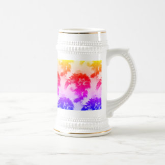 Palm trees beer stein