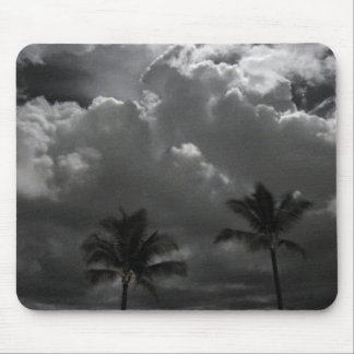 Palm Trees Before the Storm Mouse Pad