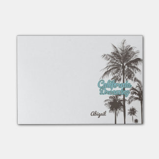 Palm Trees, California Dreaming Post-it Notes