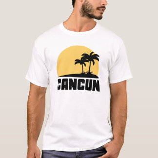 Palm Trees Cancun T-Shirt