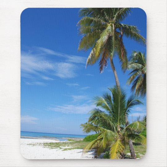 Palm Trees, Cayman Mousepad