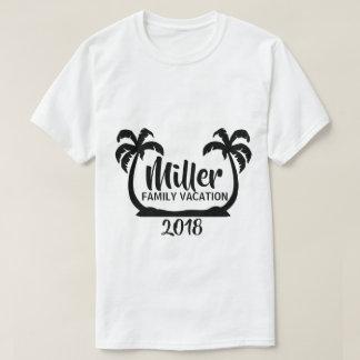 Palm Trees Family Vacation T-Shirt